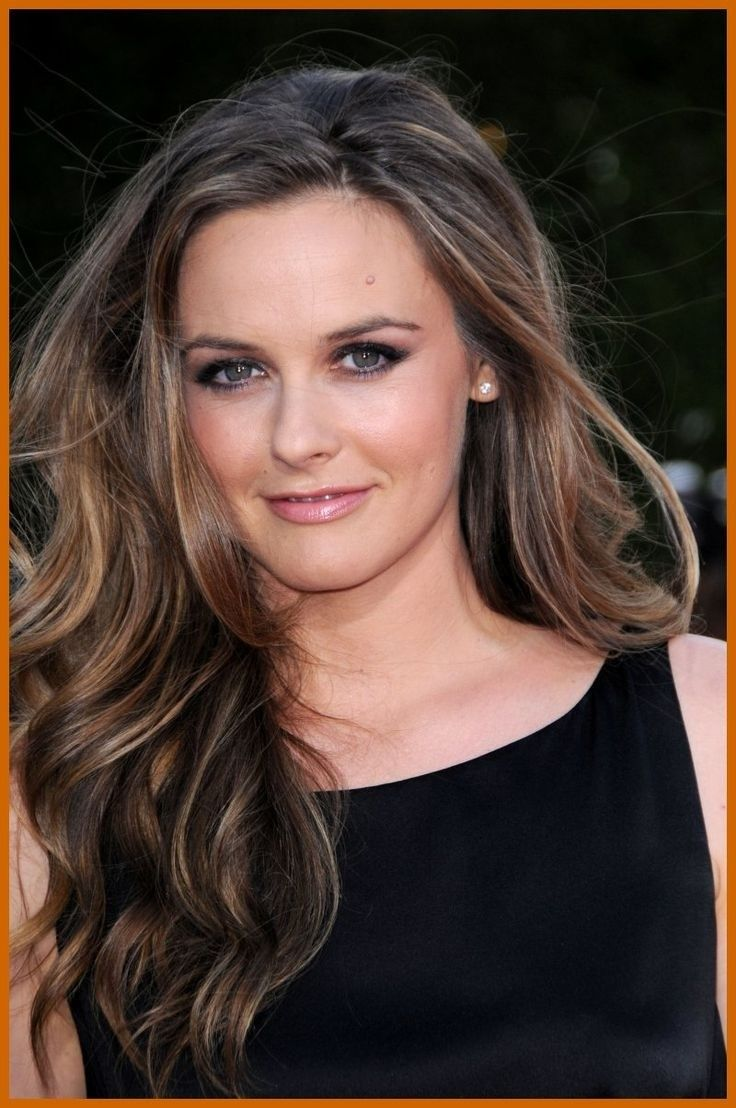 Alicia Silverstone hair - Dark Blonde - highlights ...