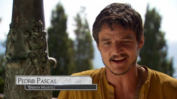Pedro Pascal As Oberyn-Martell