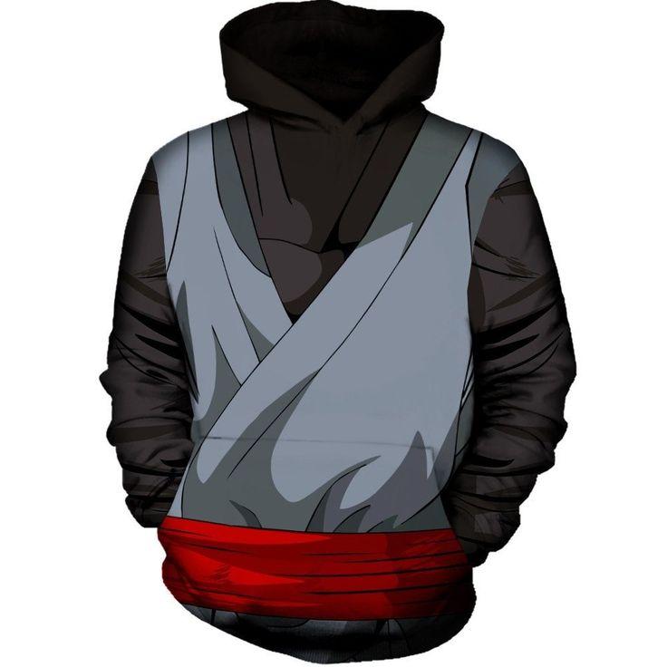 Black Goku Outfit Hoodie