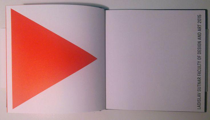 LADISLAV SUTNAR FACULTY OF DESIGN AND ART 2015 diary notes ENG