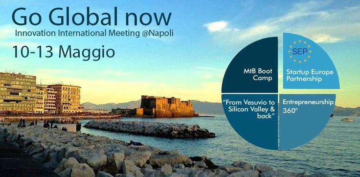 Dal 10 Maggio Napoli ospita l'evento internazionale che premia l'innovazione. Se hai un'idea di startup innovativa sei ancora in tempo per partecipare!