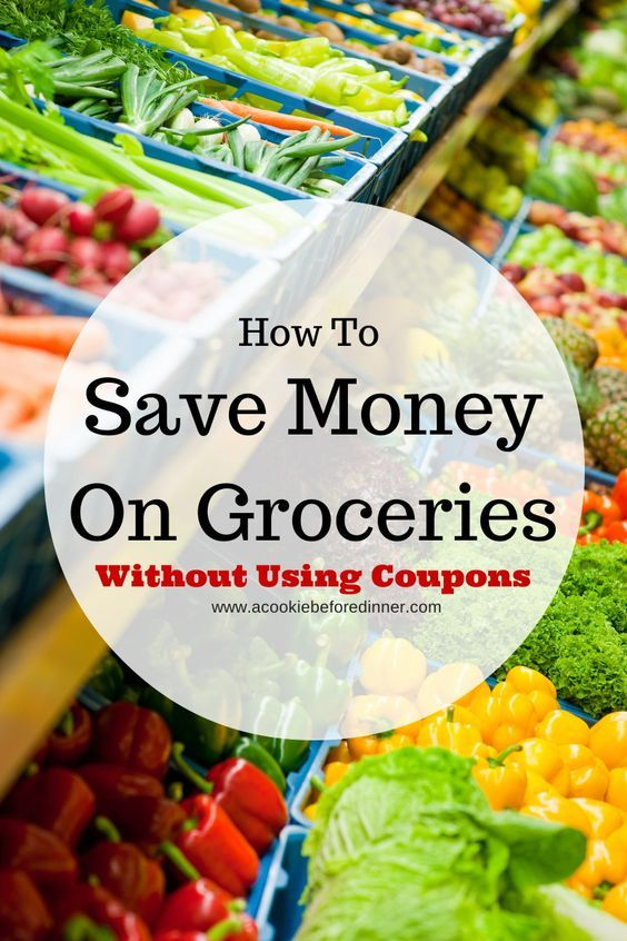 Saving money at the grocery store, budgeting, frugal food ideas. Easy tips to save money on your groceries without having to use coupons! Number 8 is such a no brainer, but a lot of people don't even think of it!