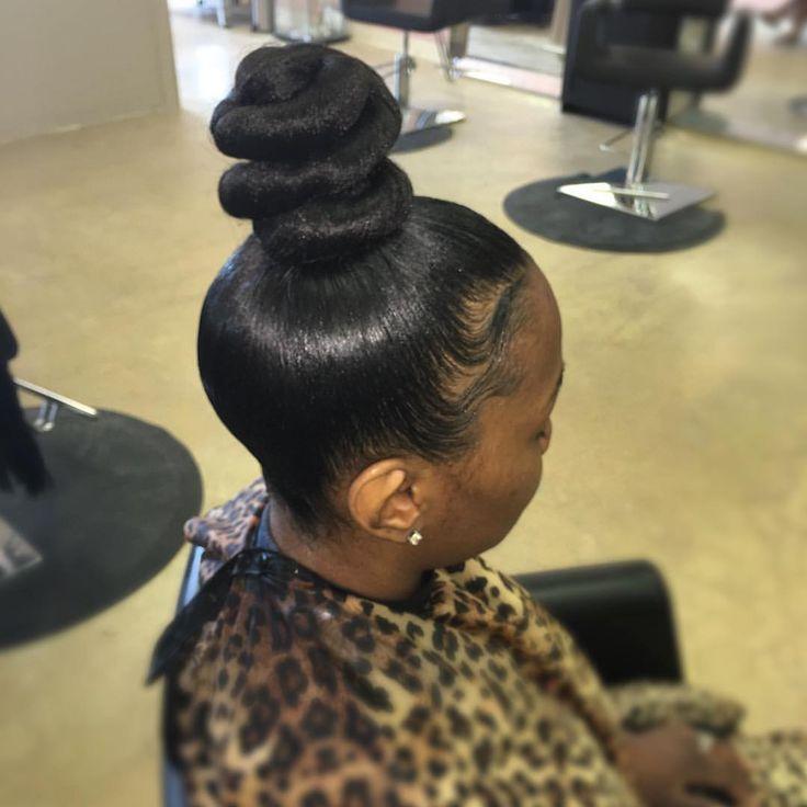 25 Beautiful Ninja Bun Ideas On Pinterest Black Hair