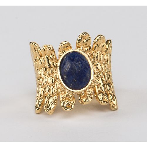 // Vergara Collection - Lapislazuli Queen Ring - DANIELA SALCEDO