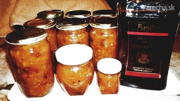 Vianočný džem s Amarettom (fotorecept)