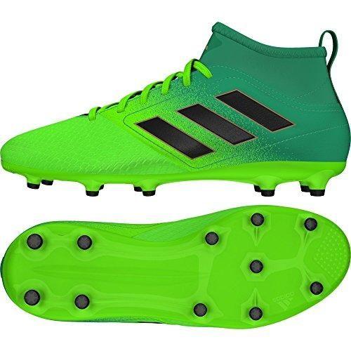 Oferta: 49.99€. Comprar Ofertas de Adidas Ace 17.3 Fg J, para los Zapatos de Entrenamiento de Fútbol Unisex Niños, Verde (Versol/Negbas/Verbas), 37 EU barato. ¡Mira las ofertas!