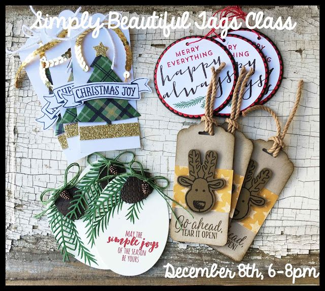 Last night was November's Simply Beautiful Card Class. I realized I hadn't shared any of the card...