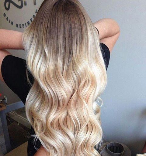 Balayage Blonde Hair