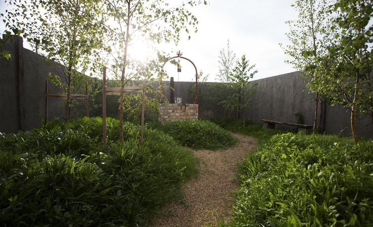 Private garden #garden #private #wishingwell #trees #thewarehouse #meletos