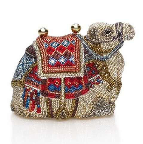 Camel clutch.  J'adore Fashion: Judith Leiber Clutches