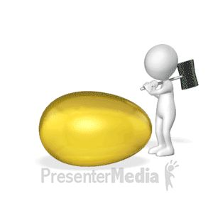 Best 25 powerpoint animation ideas on pinterest presentation this custom design animation shows a figure breaking open a golden egg to find a custom toneelgroepblik Image collections