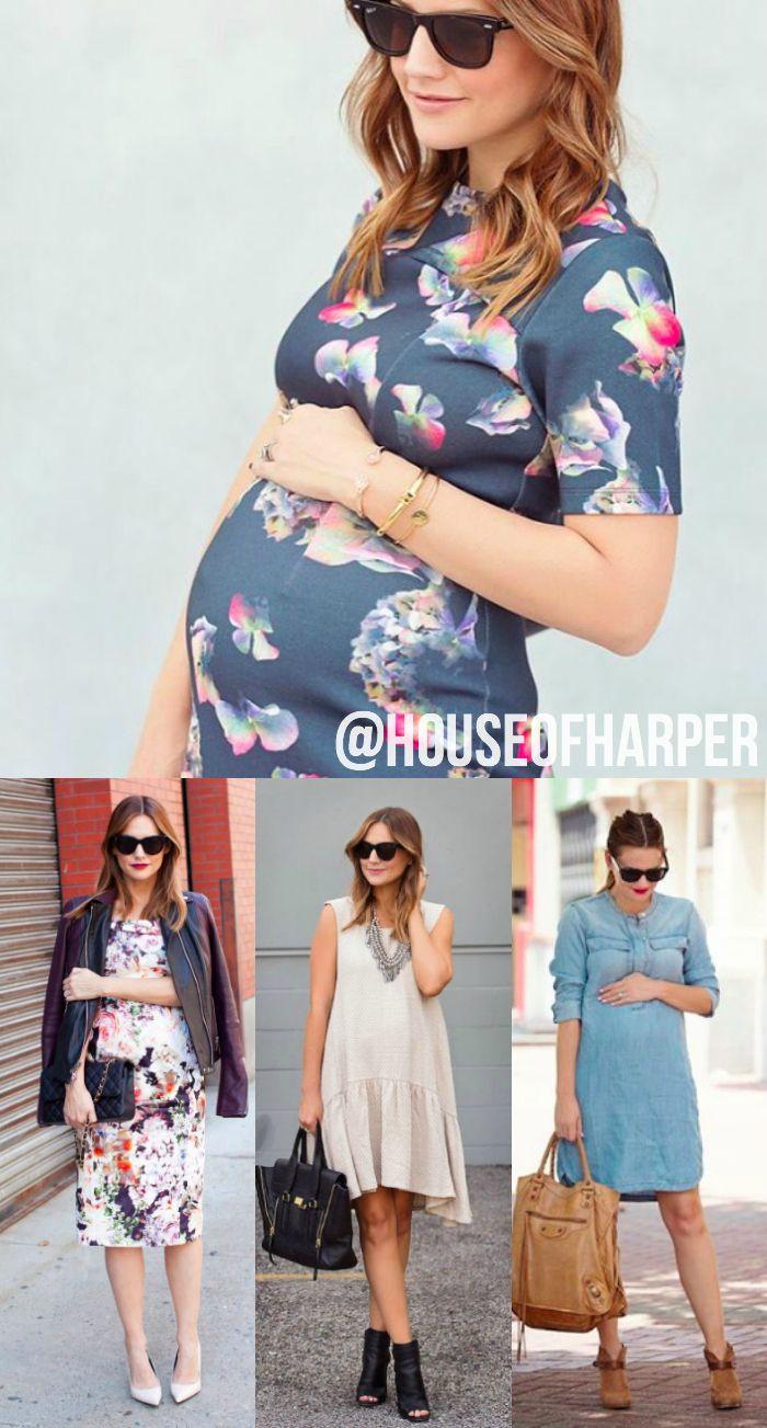 Vestidos na gravidez: um caso de amor! Práticos, versáteis e cheios de estilo. Tem coisa melhor do que  se arrumar em uma peça?