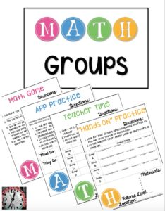 Looking to organize your Guided Math groups? These planning templates are based on the M.A.T.H. acronym for organizing Guided Math or Daily 5 Math groups. M= Math Game A=App Practice T=Teacher Time H= Hands-On Practice They are designed to give you a flexible approach to planning and organizing MATH groups, so that you can incorporate a variety of activities that work for you and your students.