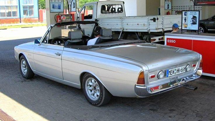 1967 Ford Taunus cabriolet