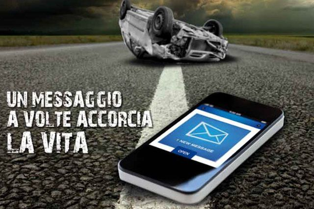 """Sicurezza stradale """"Un messaggio a volte accorcia la vita"""", campagna ASAPS - auto.it"""