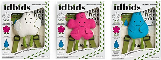 idbids - iddy biddy steps for a greener world - designed by me!