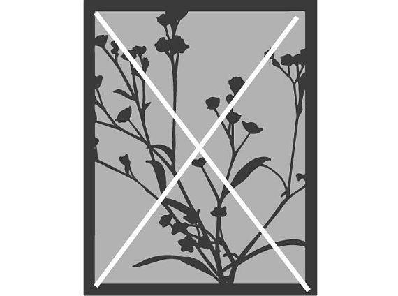 Lasercut Dxf Datei Download Blumenrahmen Blumenbild Holz Pexiglas Blumen Home Decor Decals Decor Home Decor