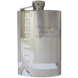 Stainless Steel 6oz Hip Flask & Funnel