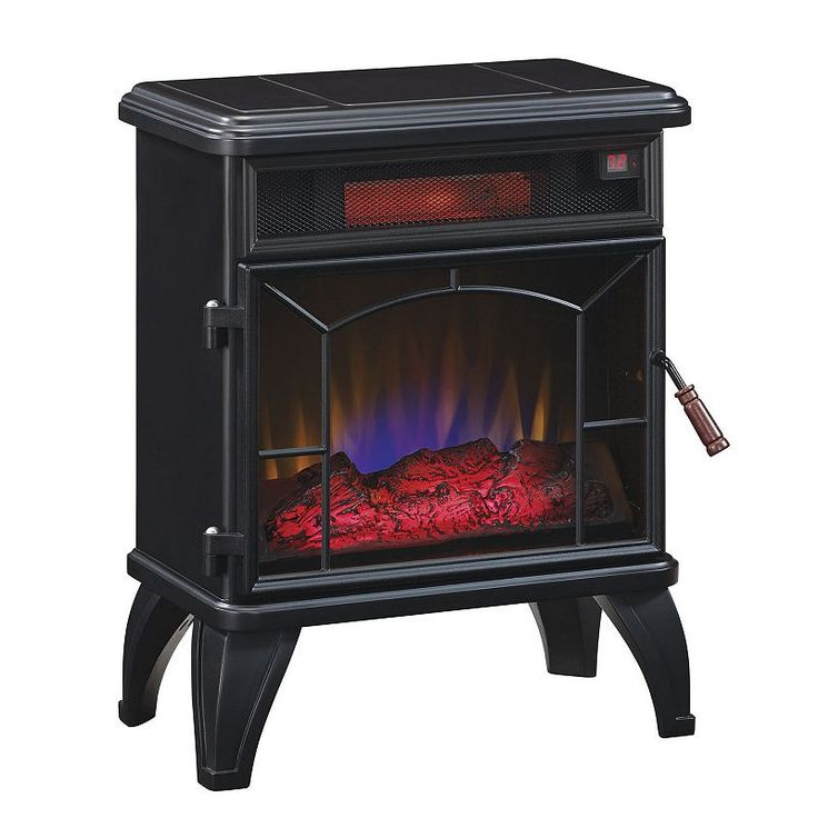 Duraflame Infrared Electric Stove, Black