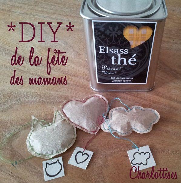Demain, c'est la fête des mamans : faites-lui plaisir avec des sachets de thé réalisés par vos soins :) Suivez le tuto : http://charlottises.fr/diy-de-la-fete-des-meres-des-sachets-de-the-personnalises/