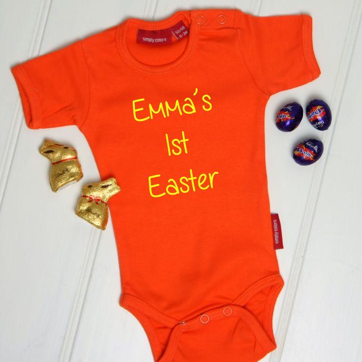 11 best easter images on pinterest easter bunny bunnies and babies personalised babys first easter babygrow cute gift simplycolors negle Image collections