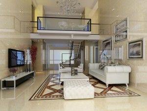 Best Duplex House Living Room Design Stairs House Interior 640 x 480