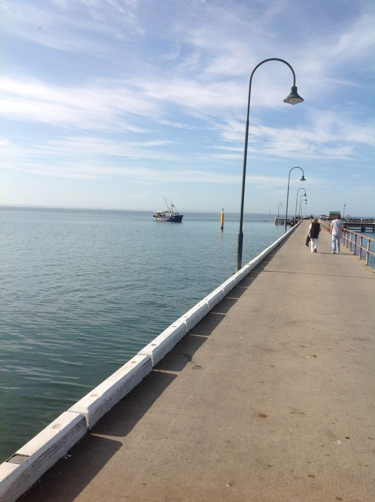 Portarlington Pier - so beautiful!