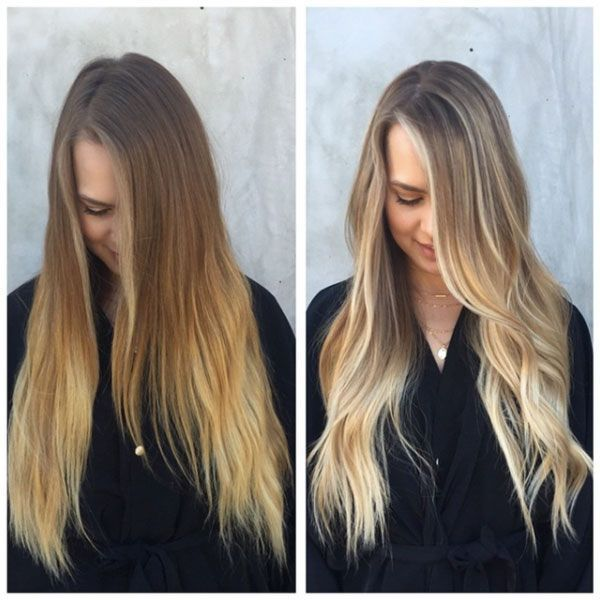 """The Ultimate Guide To Highlighting Your Hair #refinery29  http://www.refinery29.com/hair-highlights-color-pictures#slide-16  """"Here is a great example to show the power of tone. Tone is the actual shade of color. There is warm (gold) and cool (blue). The perfect shade can do wonders for your complexion. Brassy to classy!"""" —Tabitha Baker-Duenas..."""