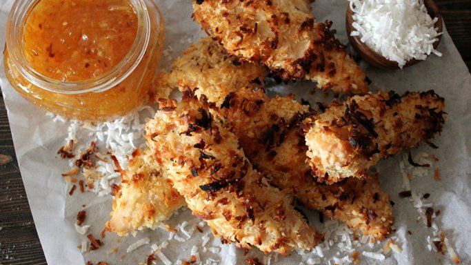 Coconut-Crusted Chicken Tenders | Recipe