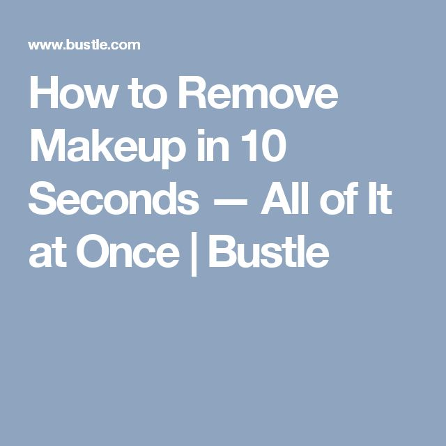 Best 25+ How to remove makeup ideas on Pinterest | Healthy skin ...
