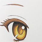 Видео урок: Как нарисовать и раскрасить глаза в стиле аниме
