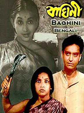 Baghini Bengali Movie Online - Soumitra Chatterjee, Bhanu Bandyopadhyay, Jahar Roy, Robi Ghosh, Tarun Kumar, Rakhee and Sandhya Roy. Directed by Bijoy Bose. Music by Hemanta Mukherjee. 1968 [U] ENGLISH SUBTITLE