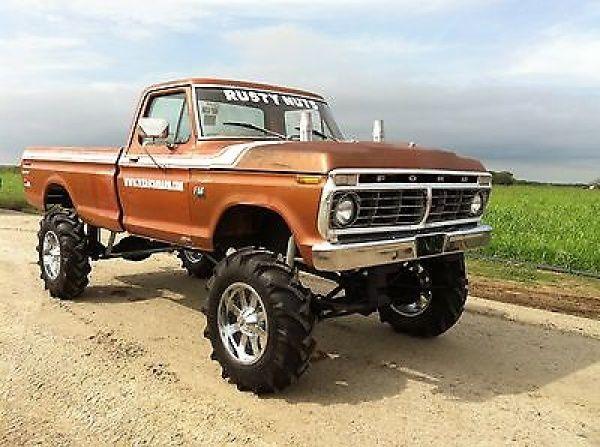 ford f 150 mud truck race truck 1975 ford f150 4x4 mud. Black Bedroom Furniture Sets. Home Design Ideas