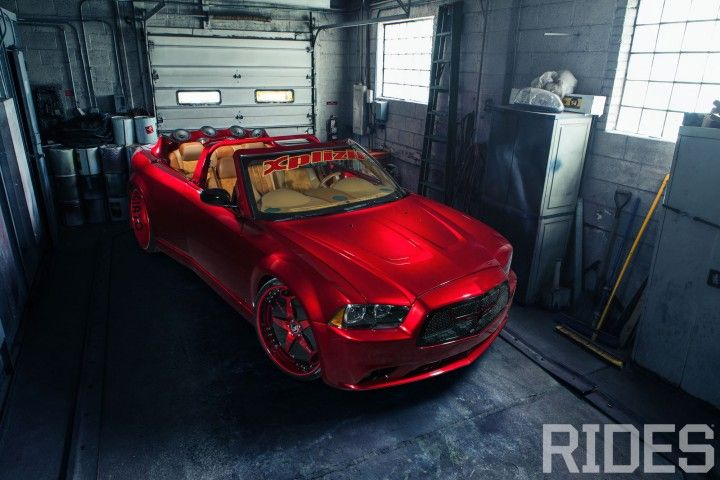 2006 Chrysler 300C w/ 2012 Charger Front Clip - Rides Magazine