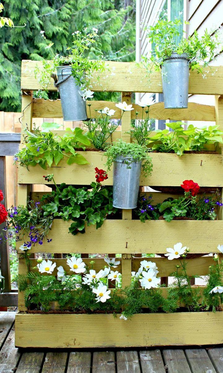 11+ Palets jardines verticales inspirations