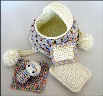 Peter Rabbit Amigurumi Pattern : 283 best images about Cradle Purses on Pinterest Purse ...