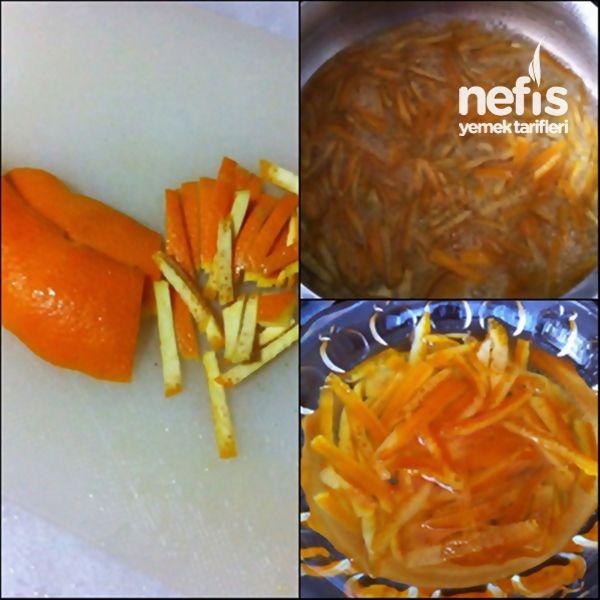 Portakal Kabuğu Reçeli Yapımı 2