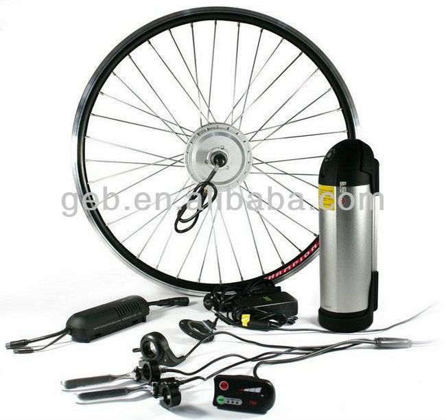 1000w electric bike kit with tube battery conversion 48V1000W electric bicycle front rear wheel conversion kit