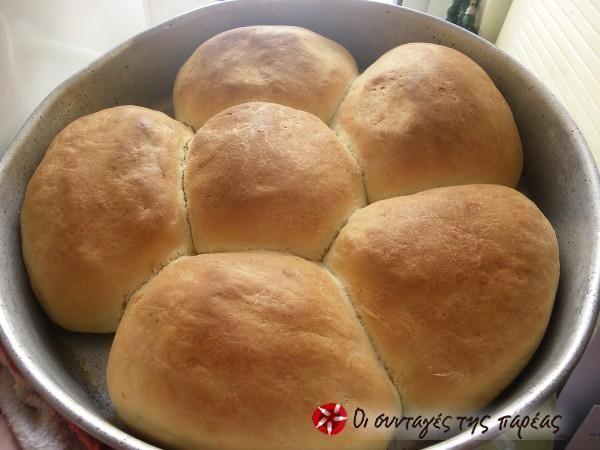Αφράτο ψωμάκι μαργαρίτα #sintagespareas