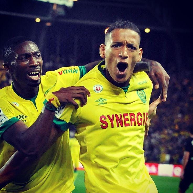 Premier match et premier but en Ligue 1 pour Yacine Bammou, qui permet à Nantes de prendre trois points face à Lens #ligue1 #FCN #Nantes #FCNantes #Bammou