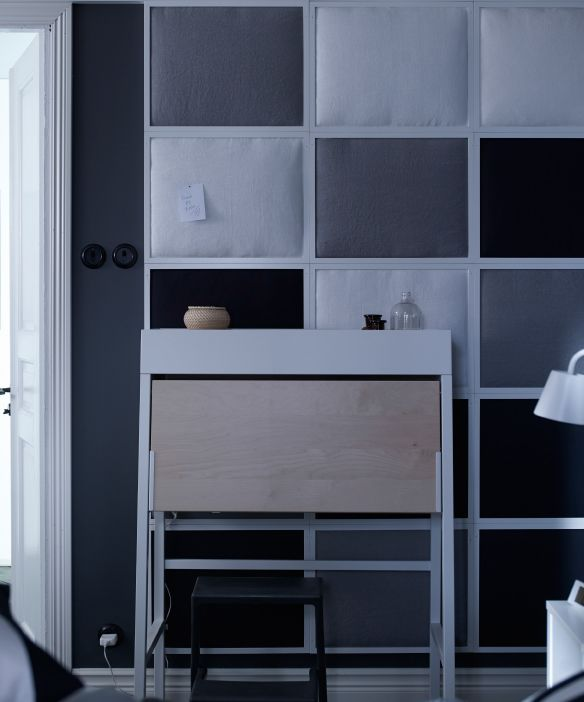 die besten 25 ikea wandpaneele ideen auf pinterest. Black Bedroom Furniture Sets. Home Design Ideas
