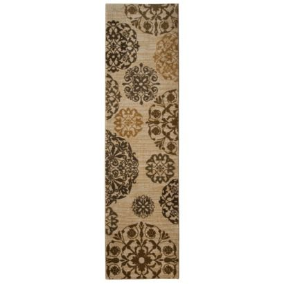 Target Home Medallion Area Rug Runner Cream 1 39 83 X7 39 Opens In A New Window Home Decor