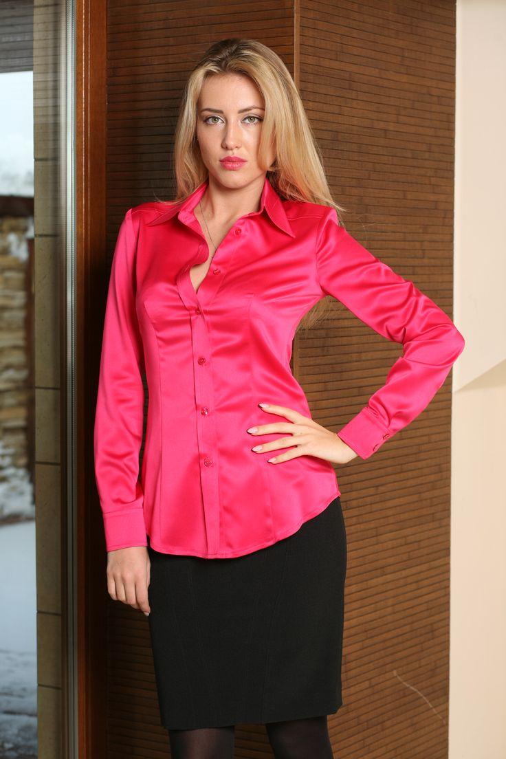 Cerise Pink Blouse