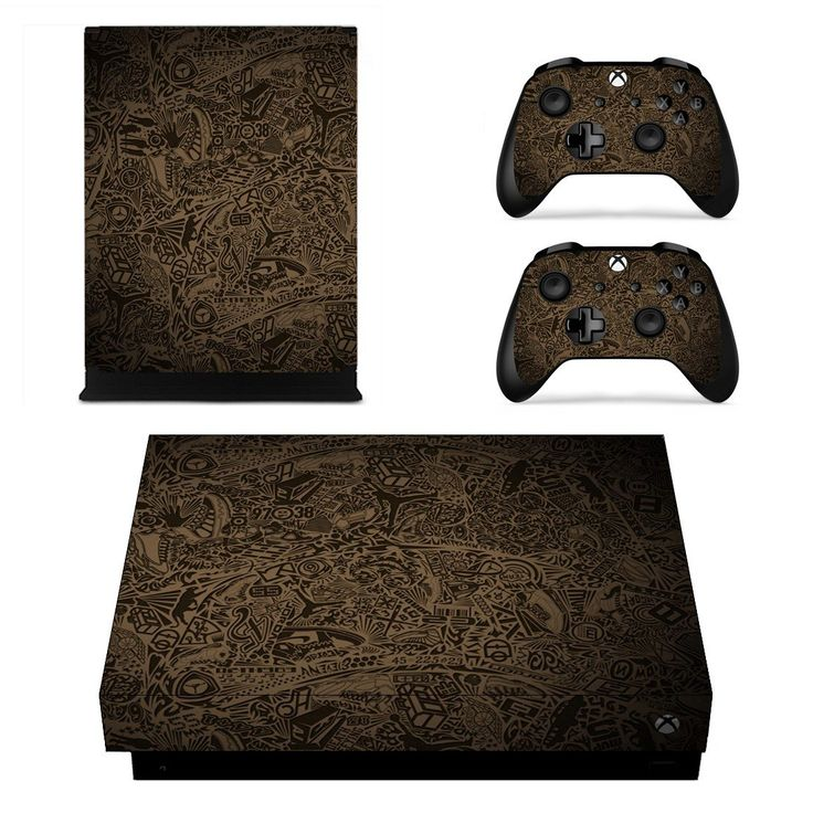 Jumpman Logo xbox one X skin decal for console and 2 controllers
