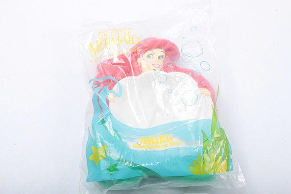 The Little Mermaid Soap Dish Vintage Walt Disney Bath