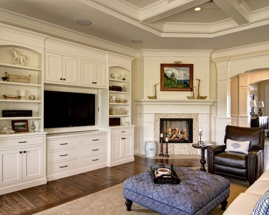 Entertainment Wall Units With Fireplace Design Pictures Remodel Decor And