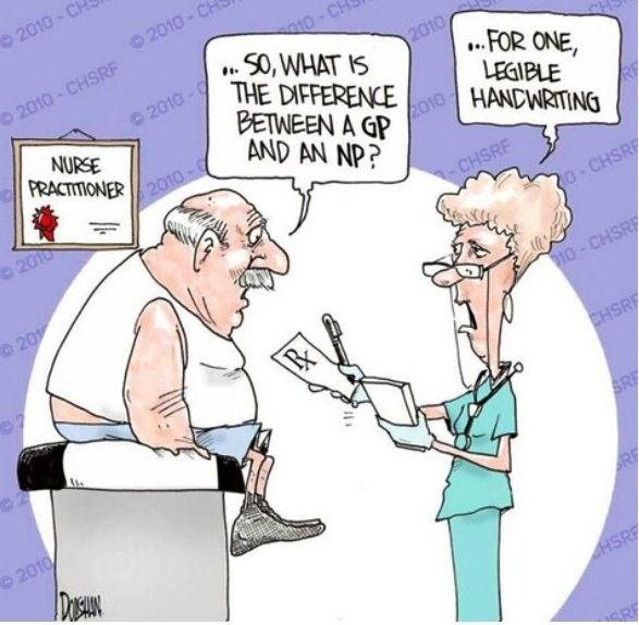 The difference between a General Practitioner and a Nurse Practitioner. #np #crnp