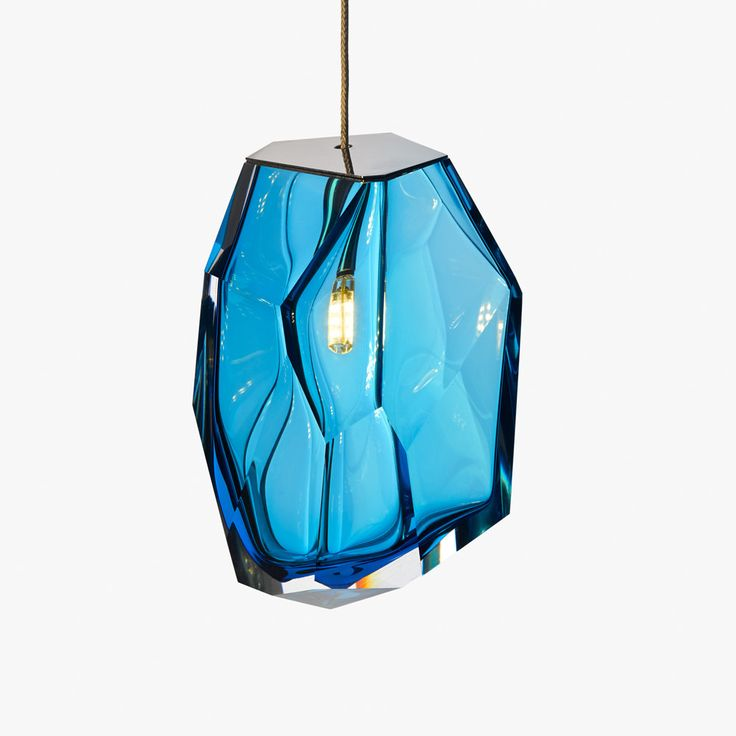 A rock light {in various colors}