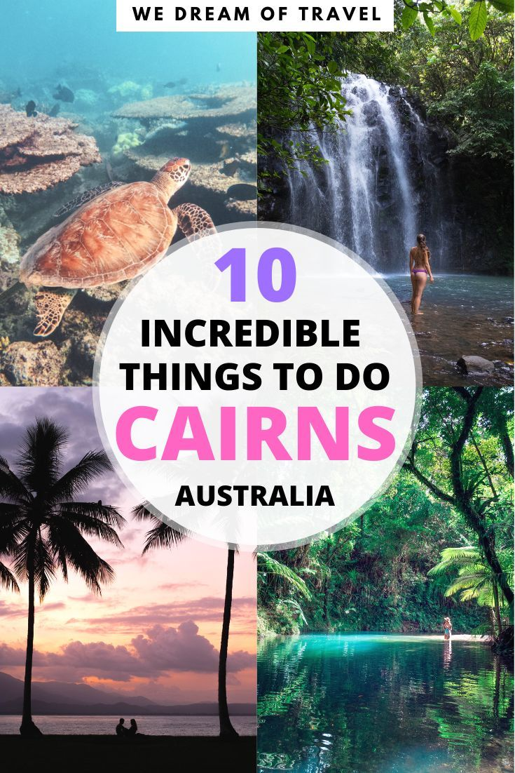 10 Incredible Things To Do In Cairns Australia In 2020 Cairns Australia Oceania Travel Australia Travel
