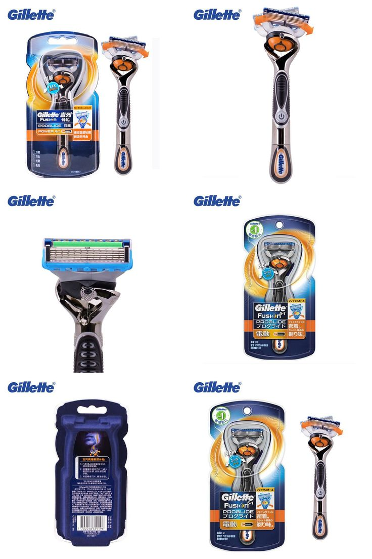 [Visit to Buy] Genuine Gillette Fusion Proglide Flexball Power Razors Brands Men Electric Shavers 1 holder With 1 Blades Safety Razors #Advertisement